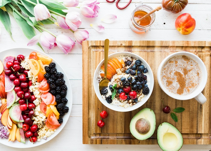 fruits and vegetables for a healthy diet